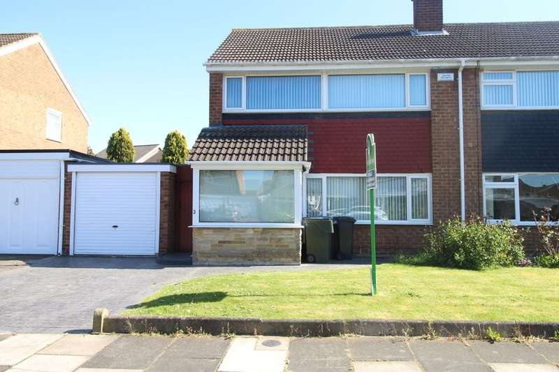 3 Bedrooms Semi Detached House for sale in Coxwold Close, Middlesbrough, TS5