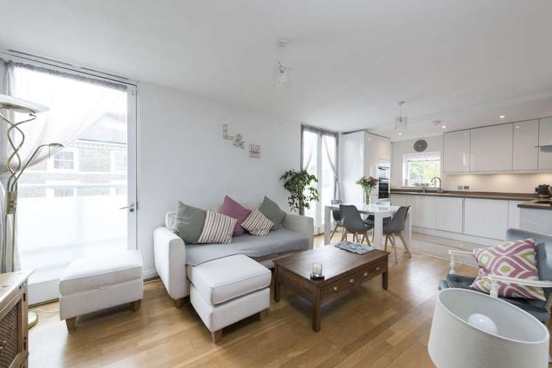 2 Bedrooms Flat for sale in Lavender Hill, Battersea, London