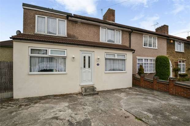 4 Bedrooms End Of Terrace House for sale in Carey Road, Dagenham, Essex
