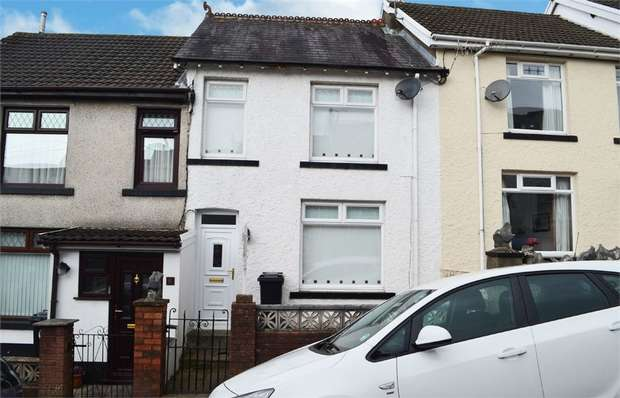 2 Bedrooms Terraced House for sale in St Tydfils Avenue, Merthyr Tydfil, Mid Glamorgan