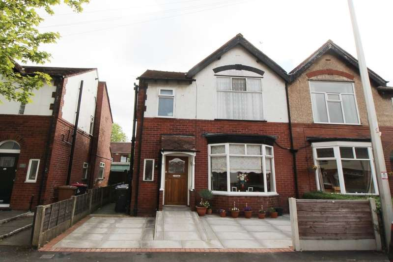 3 Bedrooms Semi Detached House for sale in Blantyre Avenue, Worsley, Manchester, M28