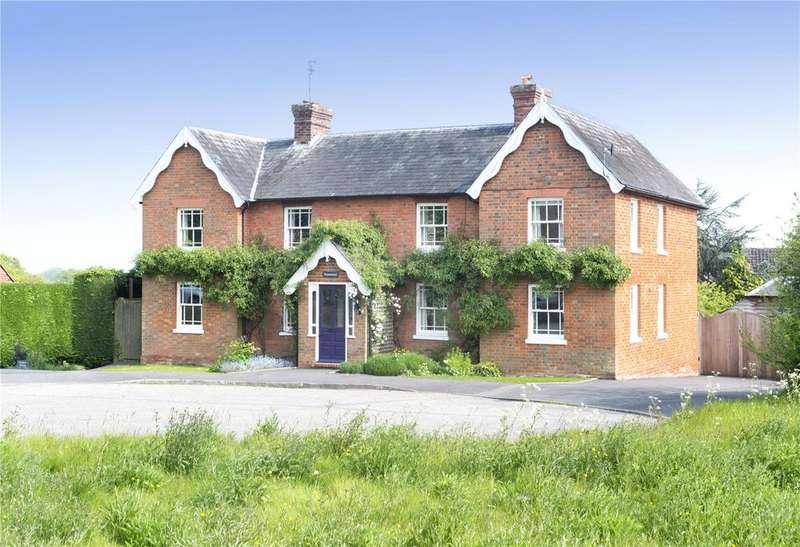 4 Bedrooms Detached House for sale in Upper Green Road, Shipbourne, Tonbridge, Kent, TN11