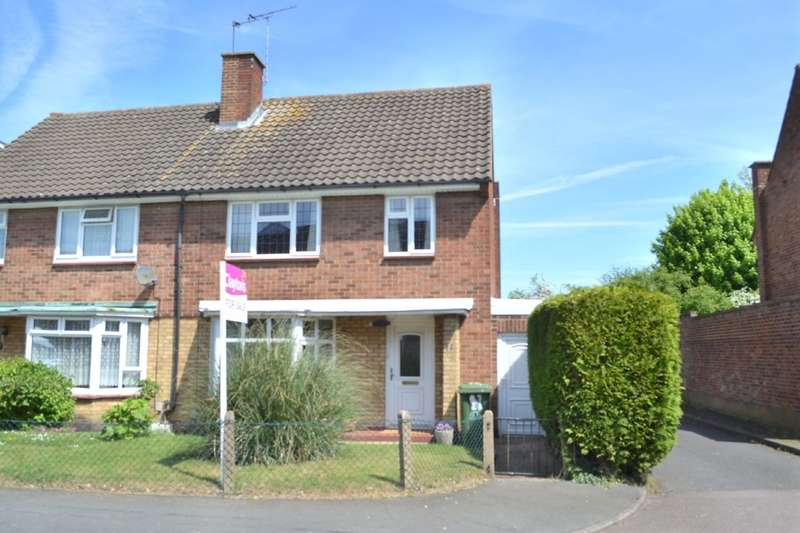3 Bedrooms Semi Detached House for sale in Leveret Close, Leavesden Watford