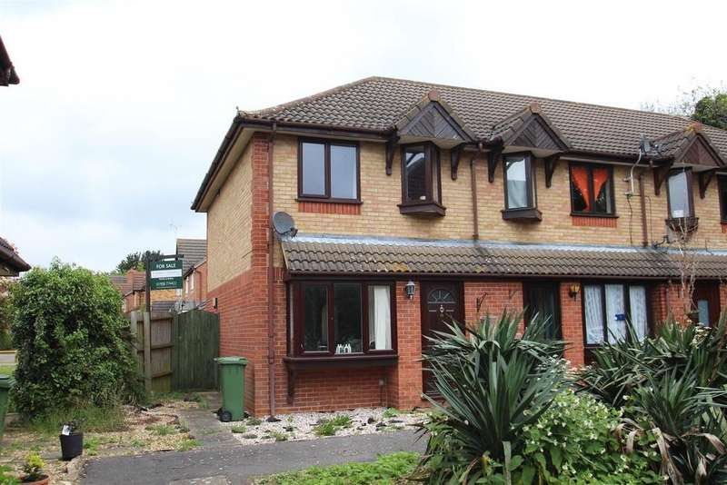 2 Bedrooms End Of Terrace House for sale in Burdock Court, Newport Pagnell