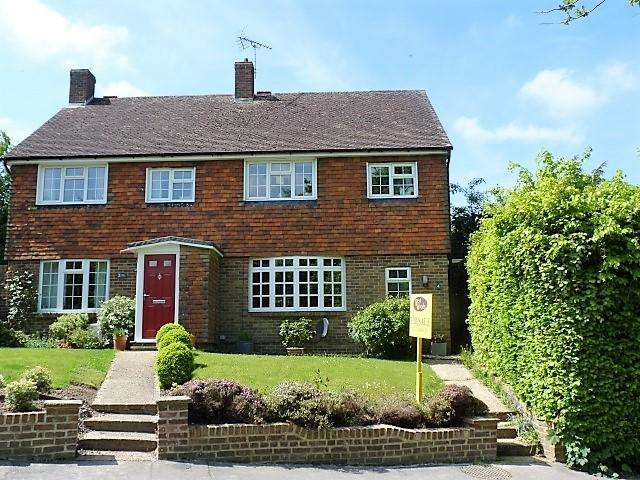 4 Bedrooms Semi Detached House for sale in Mill Close, Heathfield, East Sussex, TN21 0XB