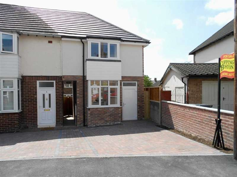 2 Bedrooms End Of Terrace House for sale in Charlesworth Street, Crewe, Cheshire