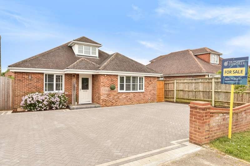5 Bedrooms Detached House for sale in Highlands Road, Old Kempshott Lane, Basingstoke, RG22