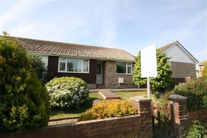 2 Bedrooms Semi Detached Bungalow for sale in Firle Road, Peacehaven
