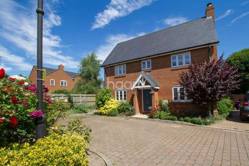 4 Bedrooms Detached House for sale in Forge End, Weston, Hertfordshire