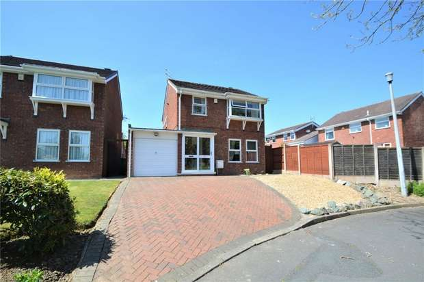 3 Bedrooms Detached House for sale in 40 Westerkirk Drive, Madeley, Telford, Shropshire