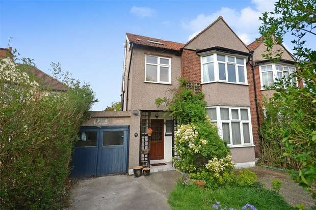 4 Bedrooms Semi Detached House for sale in Homefield Road, Sudbury, Middlesex