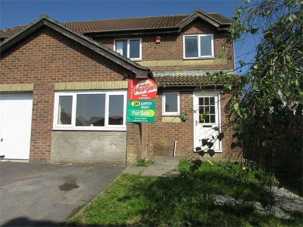 3 Bedrooms Semi Detached House for sale in Ffordd Briallu, Llansamlet, Swansea, West Glamorgan