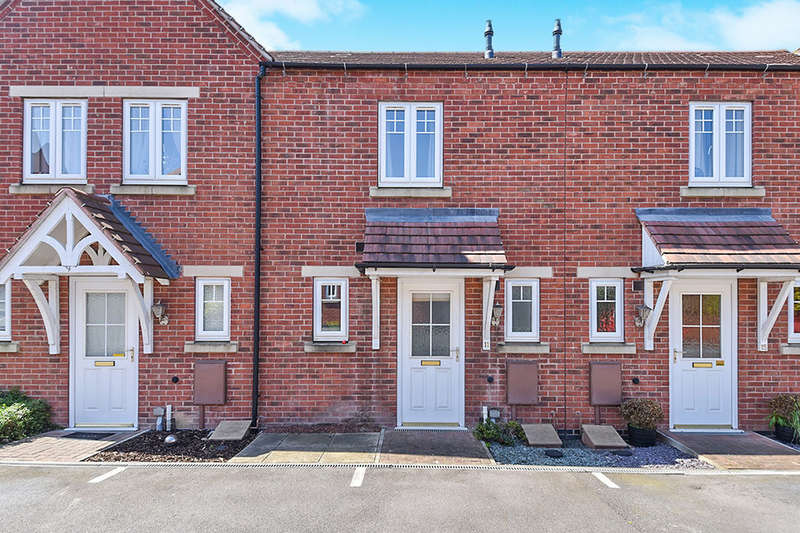 2 Bedrooms Property for sale in St. Andrews Court, Church Gresley, Swadlincote, DE11