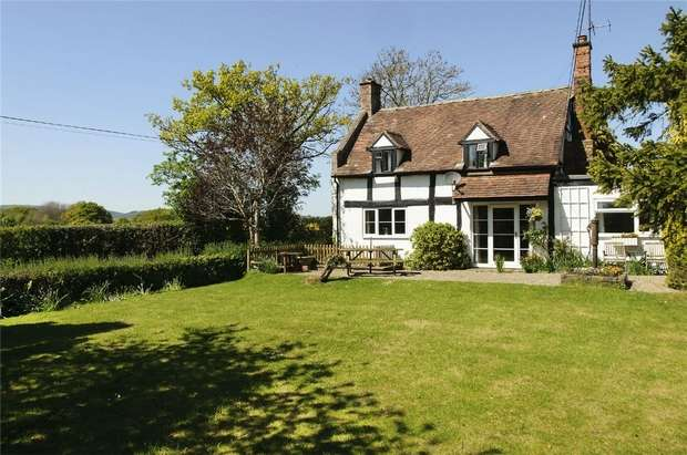 3 Bedrooms Detached House for sale in Willow Cottage, Bleathwood, Ludlow, Shropshire