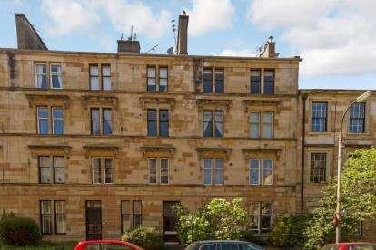 2 Bedrooms Flat for sale in Bank Street, Hillhead