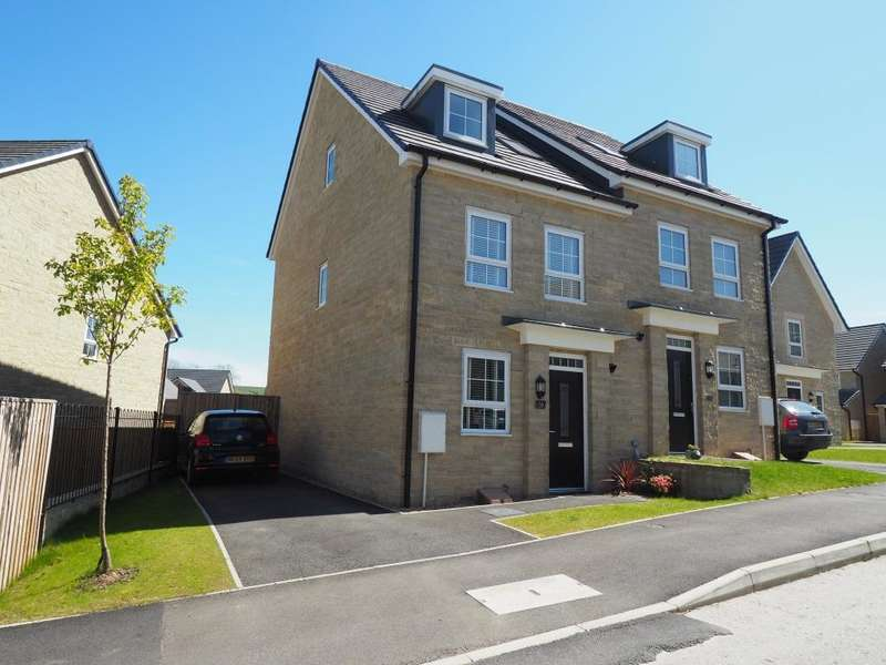 4 Bedrooms Semi Detached House for sale in Sovereign Way, Chapel-en-le-Frith, High Peak, Derbyshire, SK23 0RJ