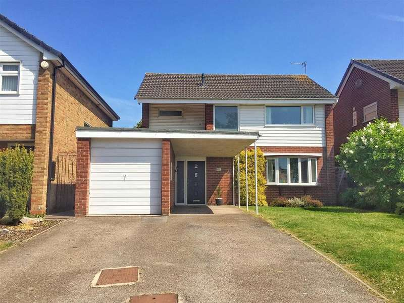 4 Bedrooms Detached House for sale in Valley Road, Lillington, Leamington Spa