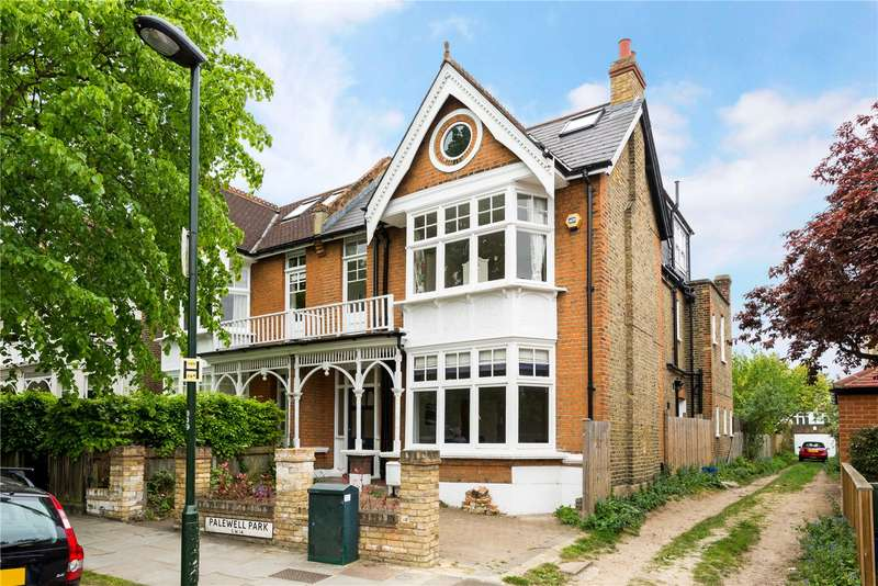 6 Bedrooms Semi Detached House for sale in Palewell Park, East Sheen, London, SW14