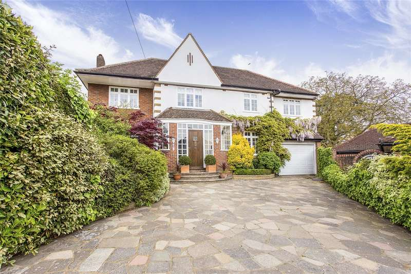 5 Bedrooms Detached House for sale in Oldfield Close, Stanmore, Middlesex, HA7