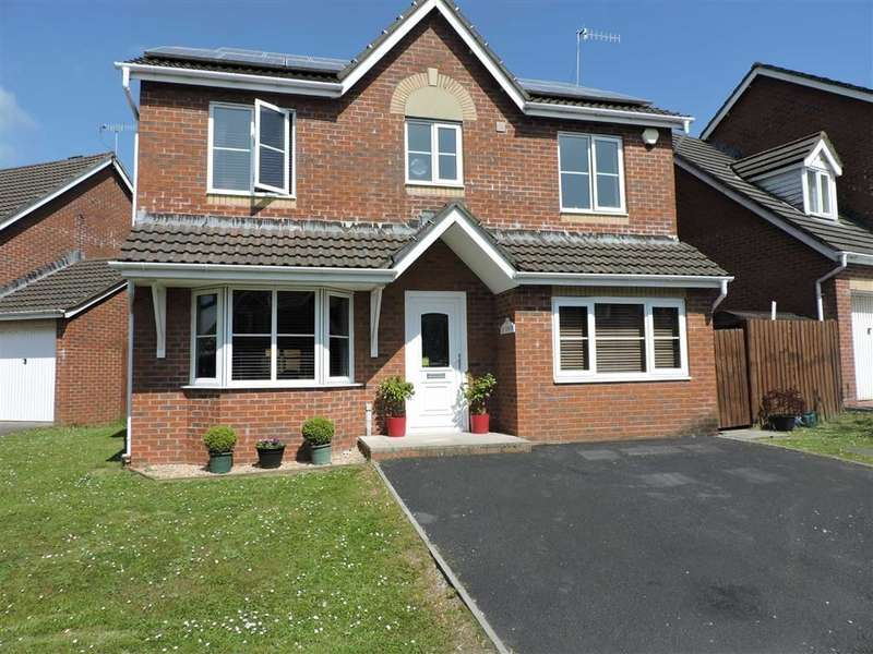 4 Bedrooms Detached House for sale in Llyn Tircoed, Tircoed Forest Village