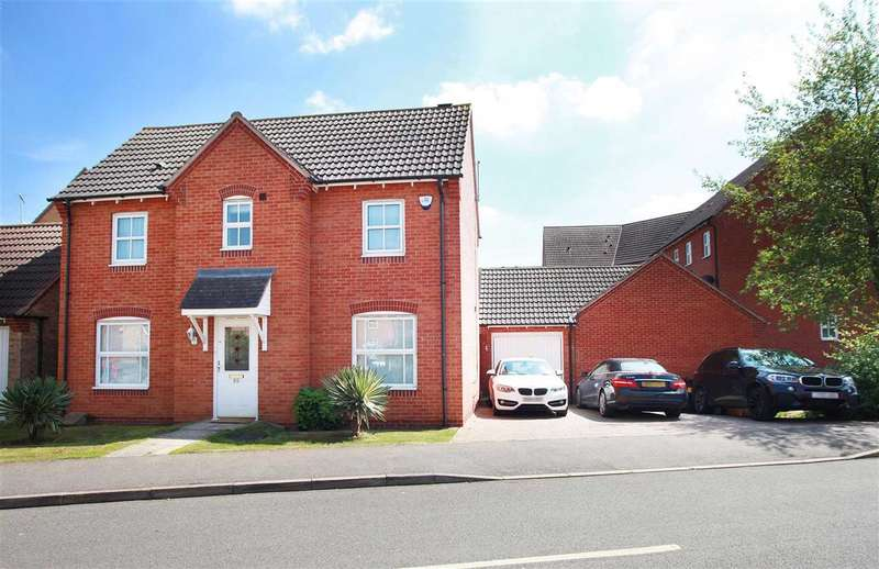 3 Bedrooms Detached House for sale in John Lea Way, Wellingborough, NN8 2QA