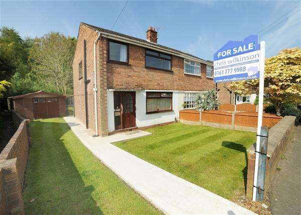 3 Bedrooms Semi Detached House for sale in 61 New Moss Road, Cadishead M44 5JW