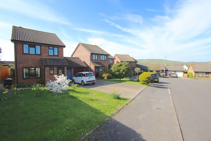 3 Bedrooms Detached House for sale in CASTERBRIDGE CLOSE, SWANAGE