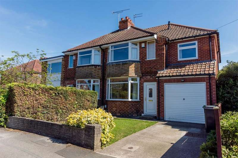 4 Bedrooms Semi Detached House for sale in Reighton Avenue, Rawcliffe, YORK