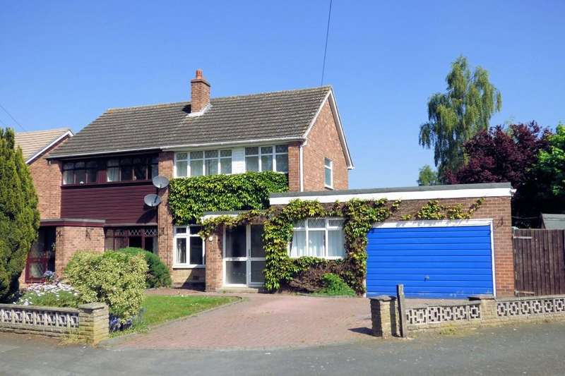 4 Bedrooms Semi Detached House for sale in Leamington Road, Branston