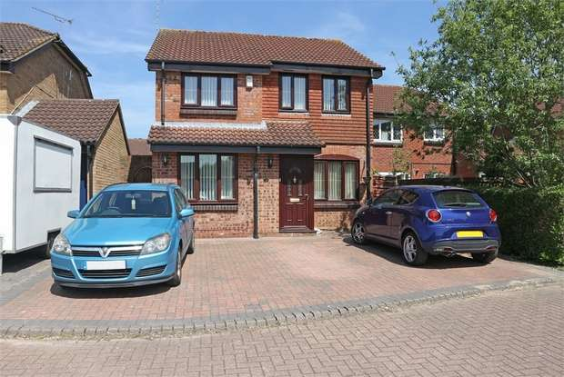 3 Bedrooms Detached House for sale in Maldwyn Close, Middleleaze, Swindon, Wiltshire