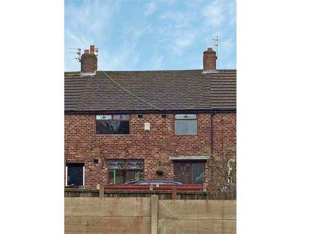 3 Bedrooms End Of Terrace House for sale in Pentland Avenue, St Helens, Merseyside