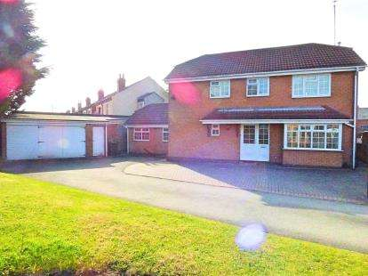 4 Bedrooms Detached House for sale in Alum Close, Coventry, West Midlands