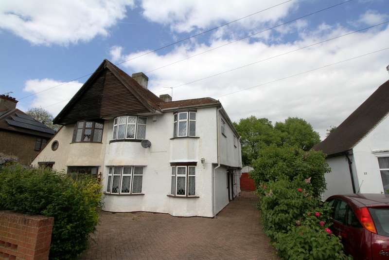 4 Bedrooms Semi Detached House for sale in Greenway, Bromley