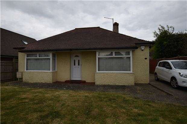 2 Bedrooms Detached Bungalow for sale in Eastbourne Road, Willingdon, Eastbourne BN20 9NT