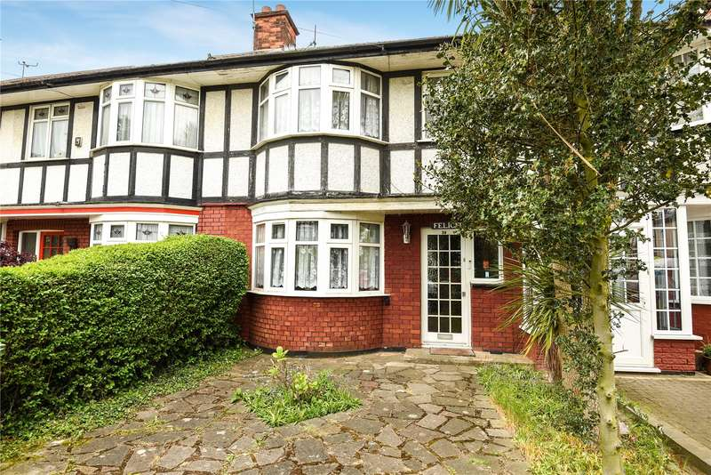 3 Bedrooms Terraced House for sale in Merlins Avenue, Harrow, Middlesex, HA2