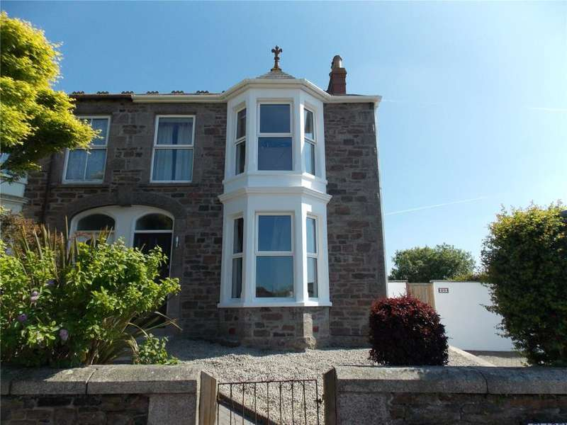 3 Bedrooms Semi Detached House for sale in Claremont Road, Redruth