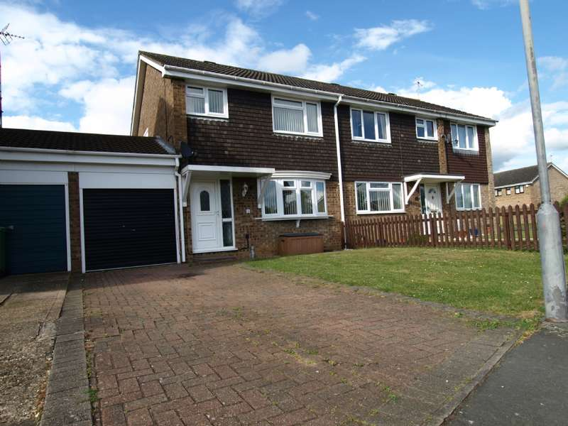 4 Bedrooms Semi Detached House for sale in Kipling Drive, Newport Pagnell, Buckinghamshire