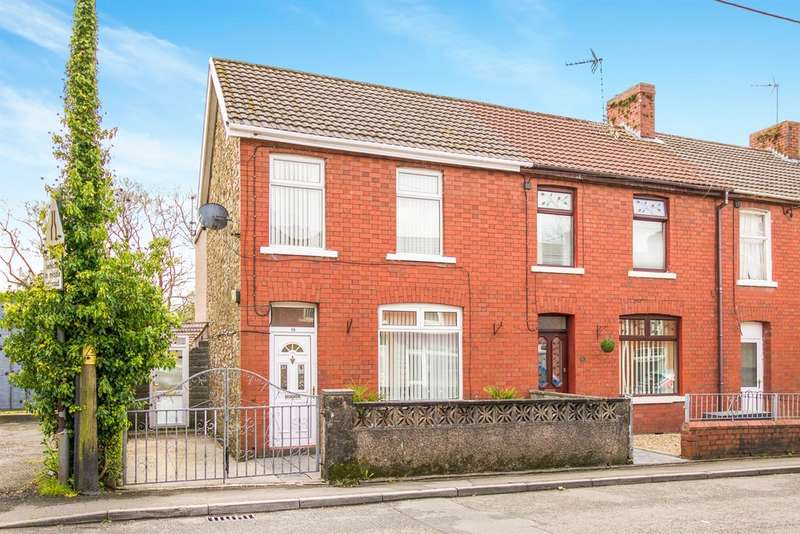 3 Bedrooms End Of Terrace House for sale in Abergarw Road, Brynmenyn, Bridgend