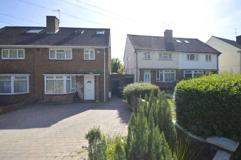 4 Bedrooms Semi Detached House for sale in Horseshoe Lane, Watford, WD25