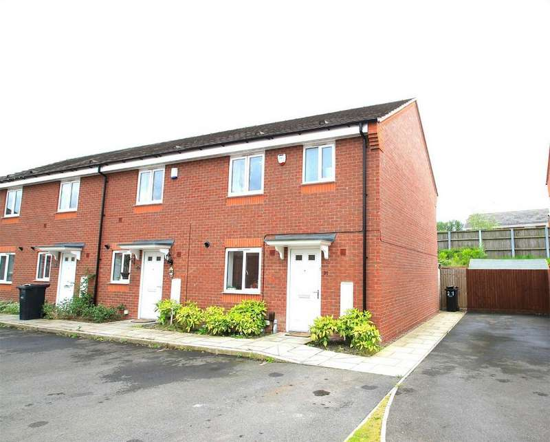 3 Bedrooms End Of Terrace House for sale in 21 Wharf Mews, Netherton, DUDLEY, West Midlands