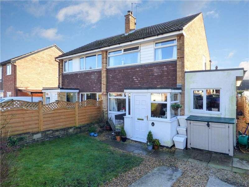 3 Bedrooms Semi Detached House for sale in Fairways Avenue, Harrogate, North Yorkshire