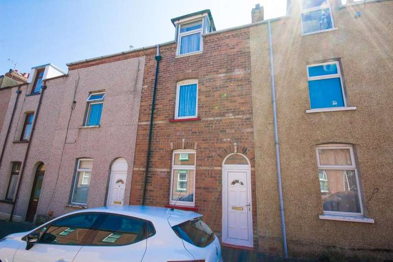 3 Bedrooms Terraced House for sale in 46 Howe Street, Barrow-In-Furness