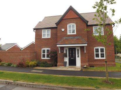 4 Bedrooms Detached House for sale in Commander Drive, Paddington, Warrington, Cheshire