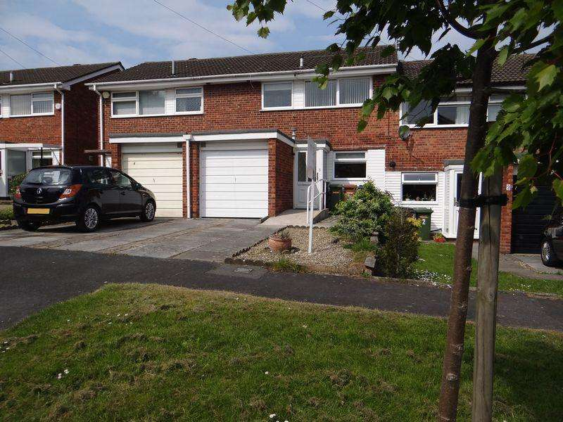 3 Bedrooms Terraced House for rent in Gleneagles Close, Wirral