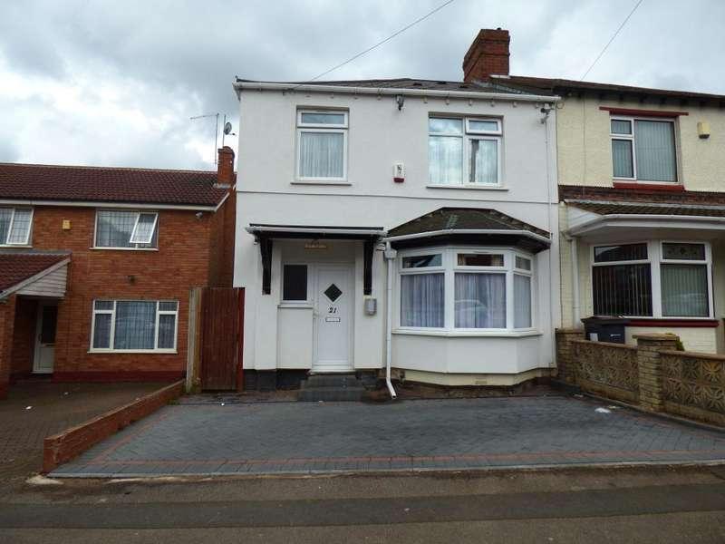 3 Bedrooms Semi Detached House for sale in Dorset Road, Edgbaston, Birmingham, B17 8EN