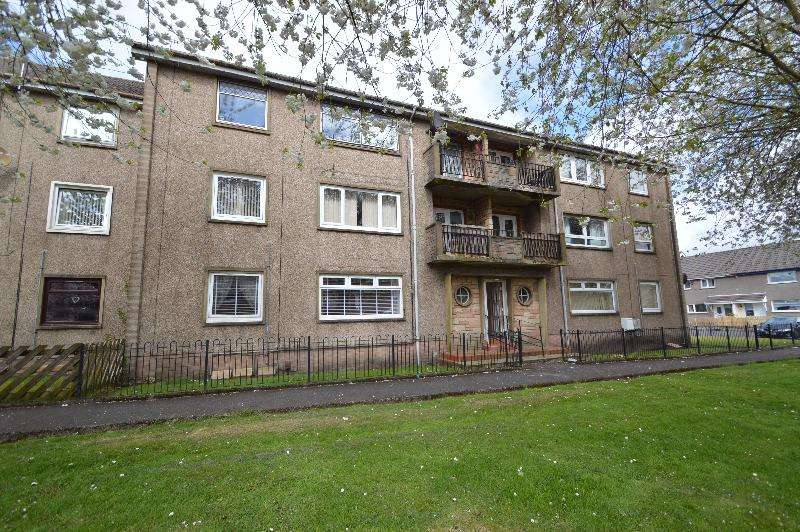 2 Bedrooms Flat for sale in Broomlands Drive, Irvine, North Ayrshire, KA12 0DT