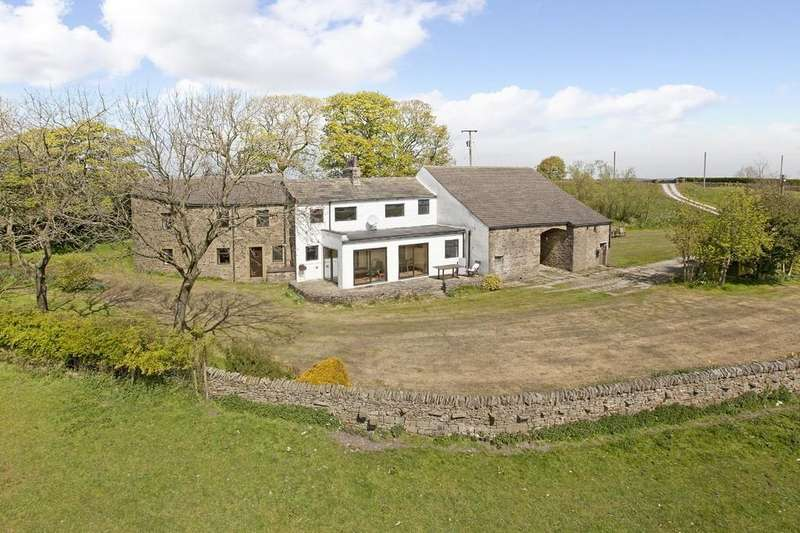 5 Bedrooms Farm House Character Property for sale in Hainslack Farm, Skipton Old Road, Colne