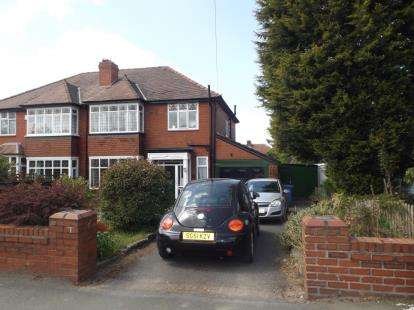 3 Bedrooms Semi Detached House for sale in Macclesfield Road, Hazel Grove, Stockport, Cheshire