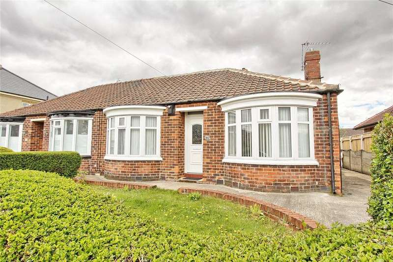 2 Bedrooms Semi Detached Bungalow for sale in Lansdowne Road, Longlands