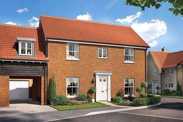 4 Bedrooms Link Detached House for sale in Plot 48 Grace Park, Lakenham, Norwich, NR1